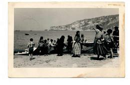 PORTUGAL - NAZARÉ  [ 0122  ] - PUXANDO AS REDES  PESCA FISHING Angeln Fischen - Leiria