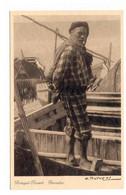 PORTUGAL - NAZARÉ  [ 0131 ] - PESCADOR EDUARDO PORTUGAL COSTUME ESCASSO!!  PESCA FISHING Angeln Fischen - Leiria