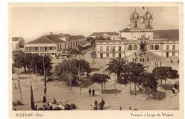 PORTUGAL - NAZARÉ  [ 0135 ] - TEMPLO E LARGO DA VIRGEM - Leiria