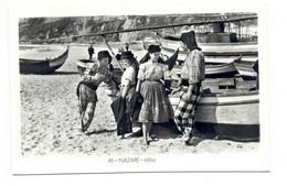 PORTUGAL - NAZARÉ  [ 0153 ] - IDILIO PESCA FISHING Angeln Fischen PECHEUR - Leiria