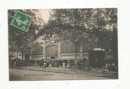 Cp , Commerce , Marchés ,93 , SAINT OUEN,  Le Marché, Voyagée 1911 - Mercati