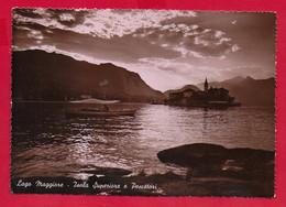 CARTOLINA VG ITALIA - LAGO MAGGIORE - Isola Superiore E Pescatori - 10 X 15 - 1951 ITALIA AL LAVORO BASILICATA - Verbania