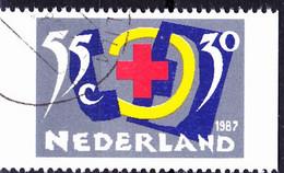 Niederlande Netherlands Pays-Bas - Einzelmarken Aus MH (MiNr: 1323 C) Bzw. (NVPH: 245) 1987 - Gest Used Obl - Booklets
