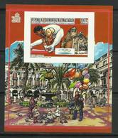 MADAGASCAR 1987 - OLYMPICS BARCELONA 92 - GIMNASIA Y PLAZA REAL - NO DENTADA - IMPERFORATE - Gymnastiek