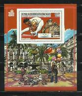 MADAGASCAR 1987 - OLYMPICS BARCELONA 92 - GIMNASIA Y PLAZA REAL - DENTADA - DENTELÉ - Gymnastiek