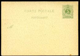 Belgique Carte Postale #17 Neuf 1884 - Postcards [1871-09]