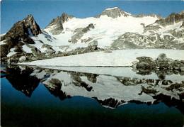 Galenstock Mit Tiefengletscher Oberhalb Tiefenbach Am Furkapass (2168) * 21. 9. 1985 - UR Uri