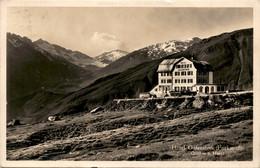 Hotel Galenstock - Furkapaß * 24. 8. 1929 - Reisebusse - UR Uri