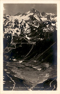 Blick Vom Furkahospiz Auf Grimsel Und Finsteraarhorn (2066) - UR Uri