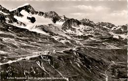 Furka Passhöhe Gegen Den Galenstock (55/5) - UR Uri