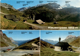Klausenpass - 3 Bilder (19450) * 3. 10. 1983 - UR Uri