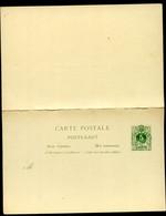 Belgique Carte Postale Avec Réponse #20 I Neuf 1887 - Postcards [1871-09]