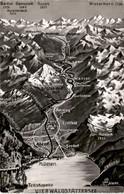 Von Flüelen Bis Zum Gotthard-Hospiz - Panorama (1319) - UR Uri