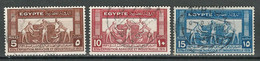 Ägypten Mi 153-55 Used - Used Stamps