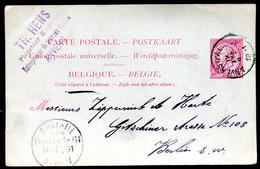 Belgique Carte Postale #21 I Anvers à Berlin Allemagne 1891 - Cartoline [1871-09]