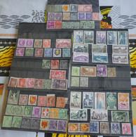Lot De Timbres Francais Et Etranger Obliteres - Lots & Kiloware (mixtures) - Max. 999 Stamps