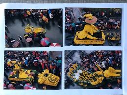 Lot De 10 Photos Format Carte Postale Carnaval Fête Des Jonquilles Gerardmer Le Beillard Téléphone - Gerardmer
