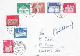 Ausland Brief  Neuhausen Am Rheinfall - Essen                 1969 - Covers & Documents