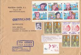 Lettera Da Barcellona Per Palermo 09 - 1961-70 Lettres