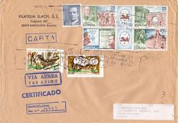 Lettera Da Barcellona Per Palermo 20 - 1961-70 Lettres