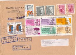 Lettera Da Barcellona Per Palermo 26 - 1961-70 Lettres