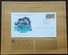ILES PITCAIRN - FDC 1978 - YT Nº172 - Journée Du Bounty - Sur Document - Pitcairninsel