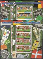 Soccer Football Guernsey KB 693/700 1996 Euro England MNH ** - Eurocopa (UEFA)