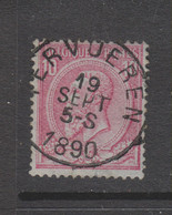 COB 46 Oblitération Centrale TERVUEREN Superbe - 1884-1891 Leopold II