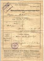 GERMANY. 1928. RAILWAY. DOCUMENT. DEUTSCHE REICHBAHN GESELLSCHAFT. LOBESTEIN. APPLICATION FOR WORKER'S CARD. - Unclassified