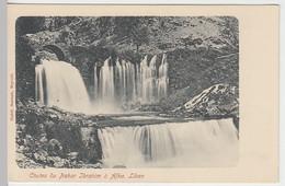 (19767) AK Libanon, Chutes Du Nahar Ibrahim A Afka, Wasserfall, Bis 1905 - Sin Clasificación
