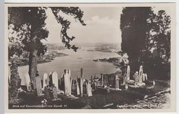 (25366) Foto AK Eyoub Friedhof, Blick Auf Konstantinopel, Istanbul, Bis 1930 - Sin Clasificación