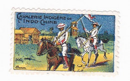 Vignette Militaire Delandre - Cavalerie Indigène De L'Indochine - Militärmarken