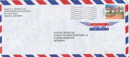 Bahamas Air Mail Cover Sent To Germany 27-9-2000 Single Franked - Bahamas (1973-...)
