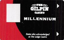 Gilpin Casino Black Hawk CO Millennium 12th Issue BLANK Slot Card    ....[RSC]..... - Casinokaarten