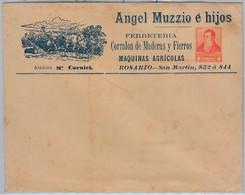 39380 - ARGENTINA - POSTAL HISTORY - Advertising STATIONERY - HORSES Agricolture - Postal Stationery