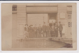 Luzern, Hochwasser 1910. Cook Reisebureau, Tourist Office, Change. Gelaufene Fotokarte - LU Lucerne