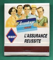 """Ancienne POCHETTE D'allumettes """" Assurance MAAF """" (Voir Photos Et Description) - Matchboxes"""