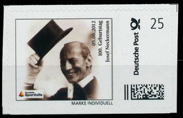 BRD PRIVATPOST Nr Josef Neckermann Postfrisch X8264B2 - Private & Local Mails