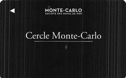 Monte Carlo Societe Des Bains De Mer Monaco - BLANK Player Rewards / Slot Card  .....[FSC]..... - Casinokaarten