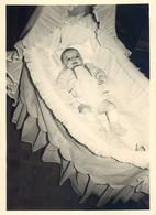 LOT DE 7 PHOTOGRAPHIES : BERCEAU POUSSETTE LANDAU BEBE BABY PRAM STROLLER BABY CHILD KINDERWAGEN COCHECITO - Unclassified