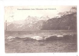 Switzerland - Vierwaldstättersee Beim Fohnsturm Und Urirotstock Used Swiss Stamp - LU Lucerne