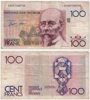 Belgien - Belgium 100 Francs Banknote ND (1982-94) Pick 142a  VG (5)  (d710 - Zonder Classificatie