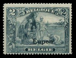 BELGISCHE BES.-POST EUPEN Nr 12 Ungebraucht X893E2A - Ocupación 1914 – 18
