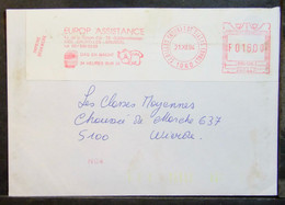 Belgium - Advertising Meter Franking Cut EMA 1994 St Gilles Dog - 1980-99