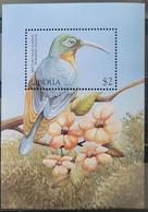 1999Liberia2350/B208Birds5,00 € - Sperlingsvögel & Singvögel