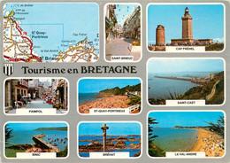 CPSM Tourisme En Bretagne-Multivues      L767 - Bretagne