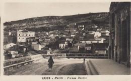 MELILLI-SIRACUSA-PIAZZA DUOMO-CARTOLINA VERA FOTOGRAFIA NON VIAGGIATA -1938-40 - Siracusa