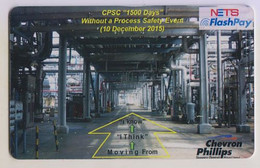 Singapore Cash Card Transport Used Gemalto Cashcard Chevron Phillips - Altri