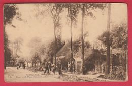 Adinkerke - Route Vers La Panne ( Moeder Lambic ) ... Geanimeerd - 1920 ( Verso Zien ) - De Panne