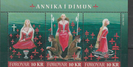 Faroe 2011 Annika I Dimun Souvenir Sheet MNH/** (M12) - Féroé (Iles)